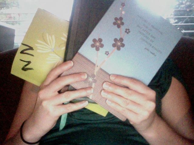 Carolyn's notebooks